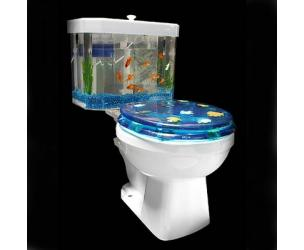 Toilet Fish Bowl