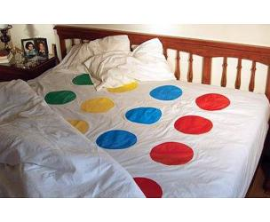 Twister Bed Sheets / Picnic Blanket
