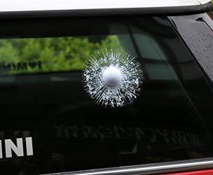 3D Golf Ball Sticker