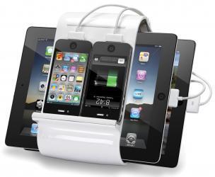 Four iPhone/iPad Charging Hub