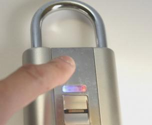 Fingerprint Scanning Biometric Padlock