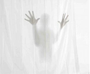 Horror Shower Curtains