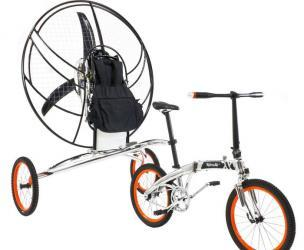 XploreAir Paravelo Flying Bicycle