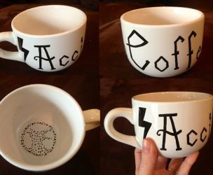 Harry Potter Accio Coffee Mug