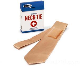 Bandage Neck Tie