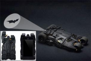 Batmobile Tumbler iPhone Case