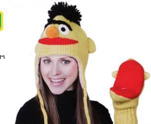 Bert From Sesame Street Knitwits Hat