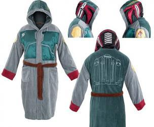 Star Wars Boba Fett Bath Robe