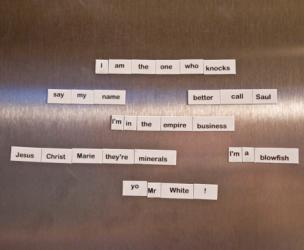 Breaking Bad Fridge Magnets