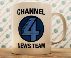 Anchorman Channel 4 News Team Coffee Mug