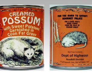 Can of Creamed Possum