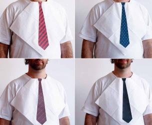 Dressy Napkin Tie