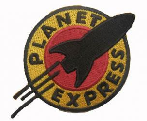 Futurama Patch - Planet Express Logo