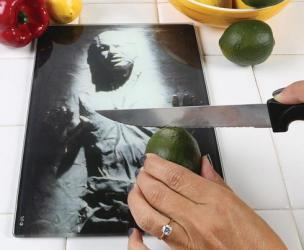 Han Solo Frozen In Carbonite Cutting Board
