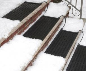 Heated Stair Mat For Snow And Ice