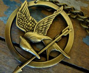 Hunger Games Mockingjay Pendants