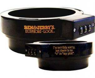 Ben & Jerry's Ice Cream Combination Lock
