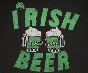 Irish I Had More Beer Shirt