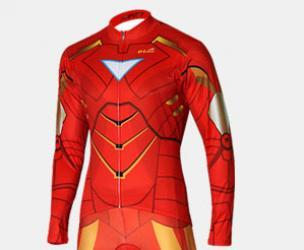Iron Man Cycling Skinsuit