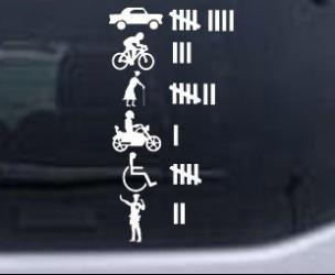 Kill Count Car Decal