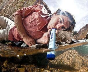 LifeStraw Personal Water Filtration Straw