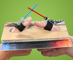 Star Wars Lightsaber Thumb Wrestling Arena