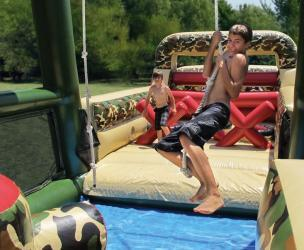 85' Inflatable Military Obstacle Course