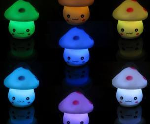 Mushroom LED Light