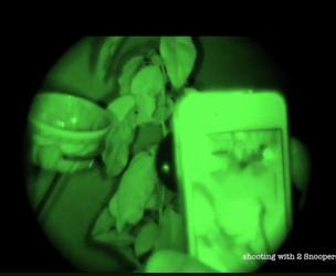 Infrared Night Vision Lens For Your Smartphone