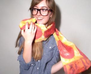 Pizza Slice Scarf