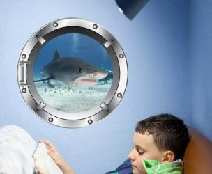 Cruise Ship Porthole Decal