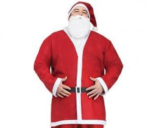 Cheap Santa Claus Suit