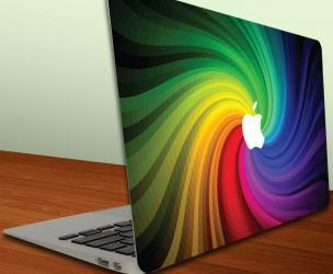 Rainbow Swirl Decal For Macbook Air/Macbook Pro