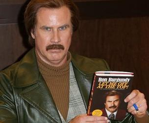 Ron Burgundy's Book - Let Me Off at the Top!: My Classy Life and Other Musings