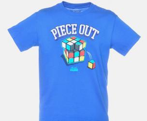 Rubik's Cube Piece Out T-Shirt