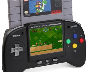 Portable SNES/NES Gaming System