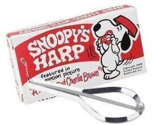 Snoopy Jaws Harp/Jews Harp