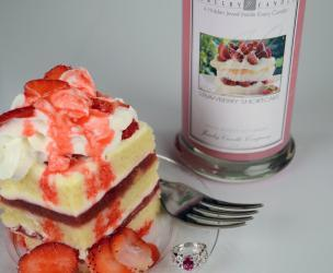Strawberry Shortcake Jewelry Candle