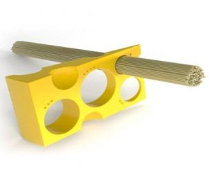 Swiss Cheese Spaghetti Measurer