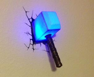 Thor's Hammer Mjolnir Light