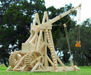Working Medieval Trebuchet